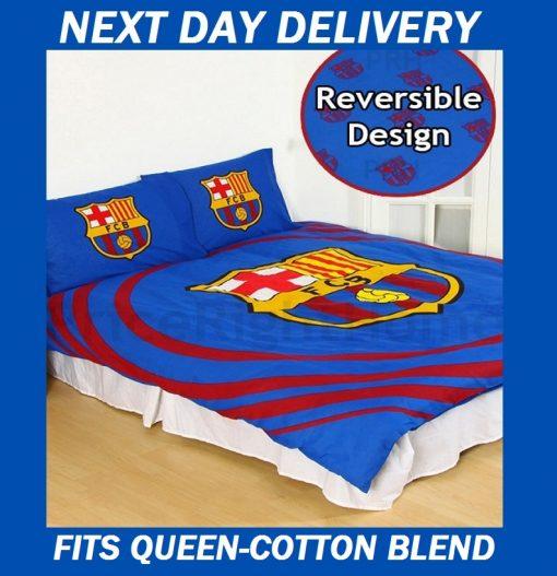 Barcelona Fits Queen Pulse quilt doona duvet cover set