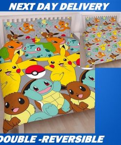 Pokemon Double doona cover