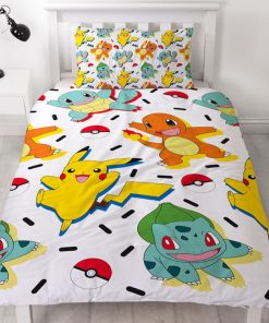 Pokemon Memphis Single quilt duvet doona bedding cover