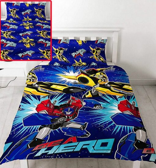 Transformers Hero Single duvet quilt doona cover