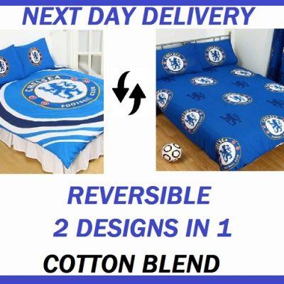 Chelsea Pulse Double reverse duvet quilt doona bedding cover set 2