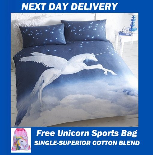 Stardust Unicorn Kids Doona cover