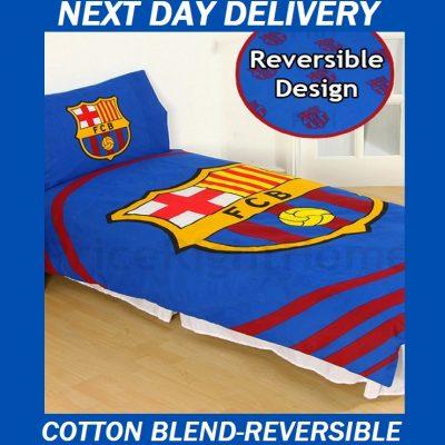 Barcelona Single Pulse quilt doona duvet cover set