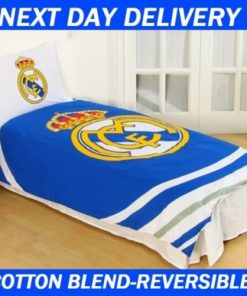 Real Madrid Single quilt duvet doona bedding cover set