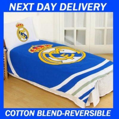 Real Madrid Single quilt duvet doona bedding cover set