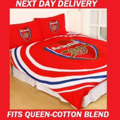 Arsenal Football Licensed Quilt Duvet Doona Bedding Cover