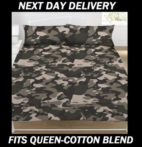 Army Camouflage Kids Quilt