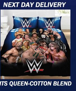 WWE Wrestling John Cena Duvet Doona Quilt Fits Queen Bedding Cover