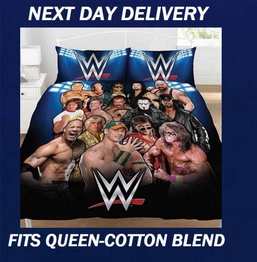 WWE Wrestling John Cena Duvet Doona Quilt Fits Queen Bedding Cover