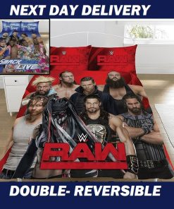 WWE Wrestlemania Licensed Quilt Duvet Doona Bedding Cover Sets