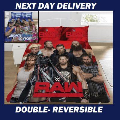 WWE Wrestlemania Licensed Quilt Duvet Doona Bedding Cover Sets