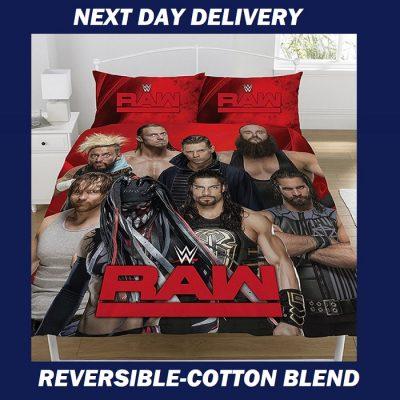 WWE Raw Queen duvet quilt doona bedding cover