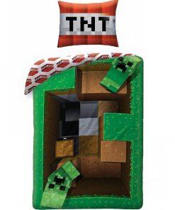Minecraft Quilt Duvet Cover Single