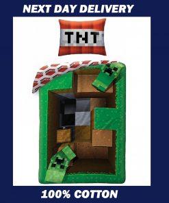 Minecraft Duvet Cover Single