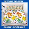 Pokemon Kids Duvet Double