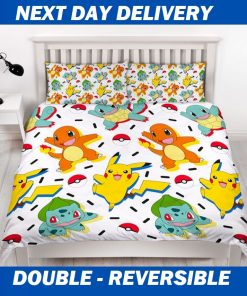 Pokemon Kids Duvet Double