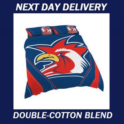 Sydney Roosters Double quilt duvet doona bedding cover