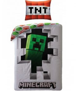Minecraft Dynamite Single Quilt doona duvet cover set