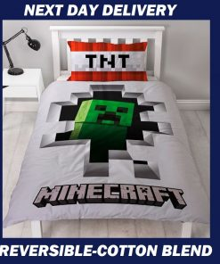 Minecraft Dynamite Single Quilt cover