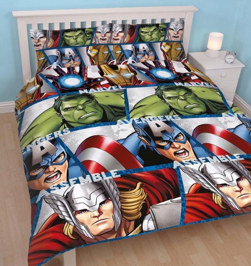 Avengers Bedding Duvet Cover Set