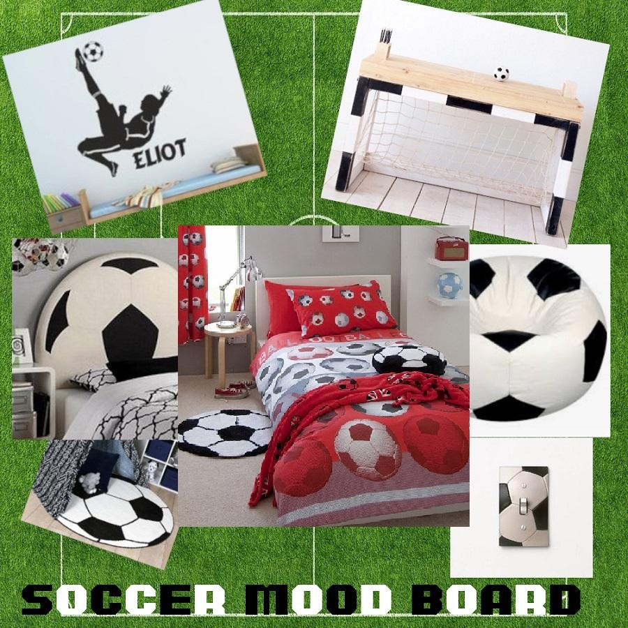 Boys Soccer Football Single Doona Quilt Duvet Cover Set By