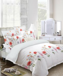 Flowers Quilt Cover Set