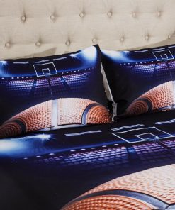 Basketball Court Quilt Cover Set