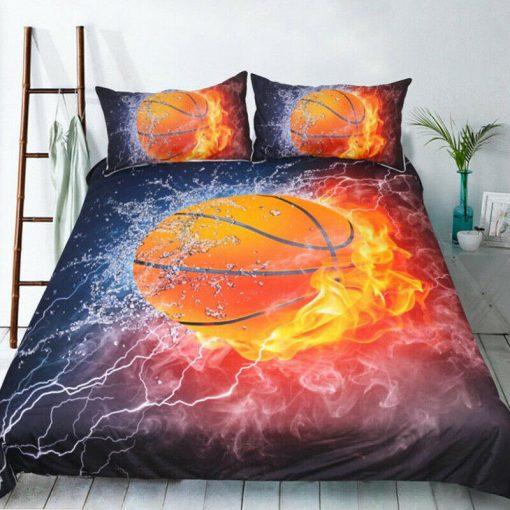 Basketball Quilt Cover Set