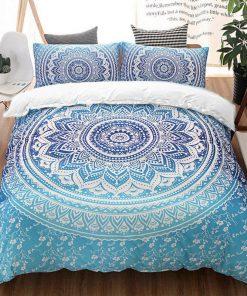 Mandala quilt cover