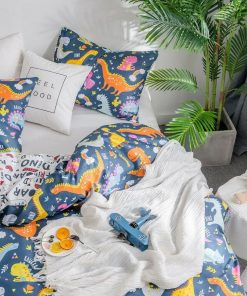 Dinosaur Kids Quilt Cover