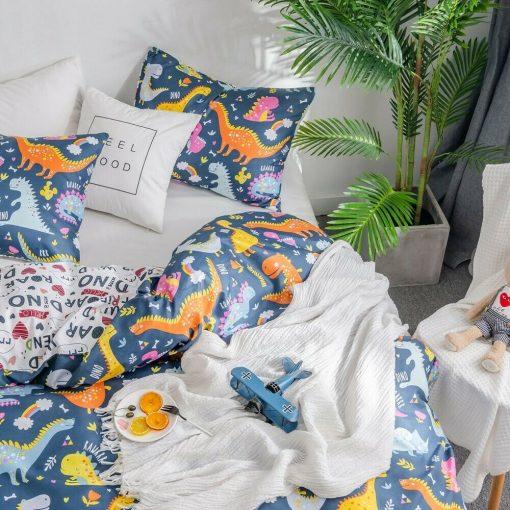 Dinosaur Kids Quilt Cover
