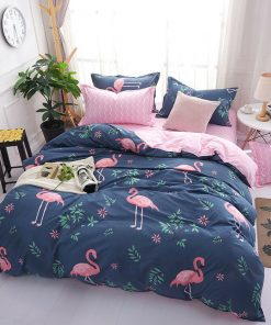 Flamingo Duvet Cover Set