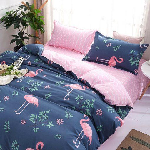 Flamingo Duvet Cover Set