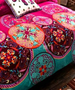 Mandala Quilt Cover Set