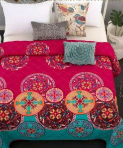 Mandala Quilt Cover Set