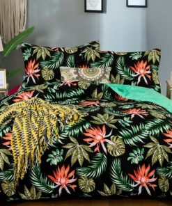 Palm Tropical Duvet Cover