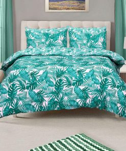 Palm Tropical Quilt Cover