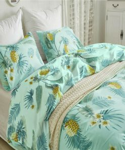 Pineapple Palm Leaf Quilt Cover