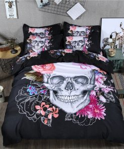 Skull Duvet Cover Set