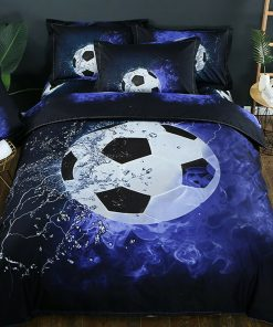 Soccer Football Quilt Cover Set