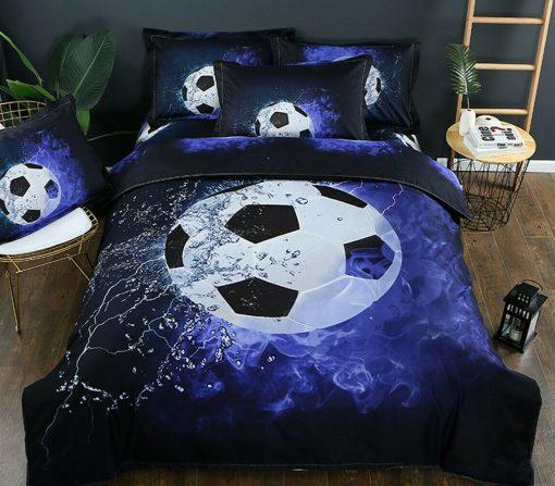 Soccer Football Quilt Cover Set