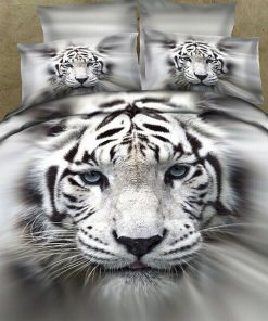 Tiger Quilt Cover Set