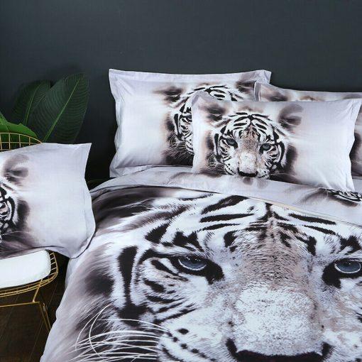 Tiger Quilt Cover Set