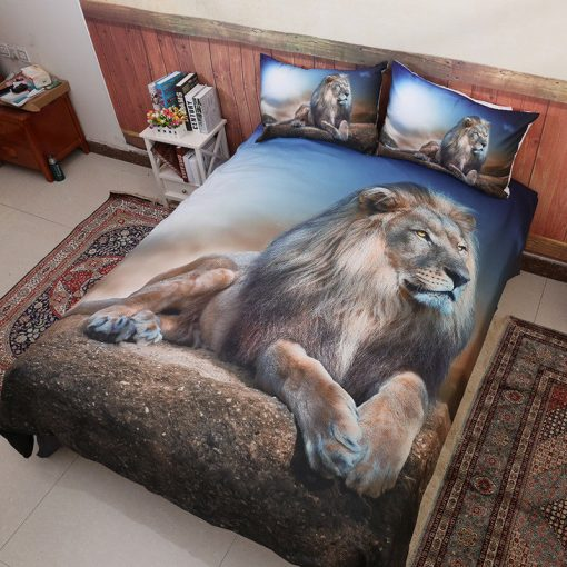 Lion Quilt Cover Set