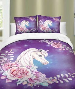 Unicorn pink duvet covers