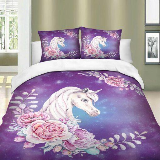 Unicorn pink duvet covers