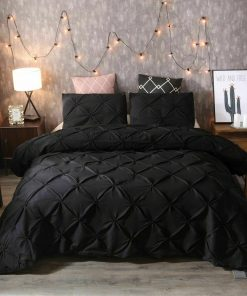 Black Diamond Quilt Cover