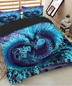 Dragon Queen Quilt Cover