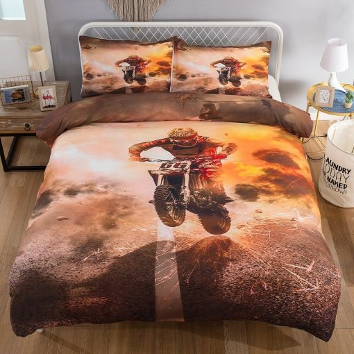 Motorbike Duvet Cover Set