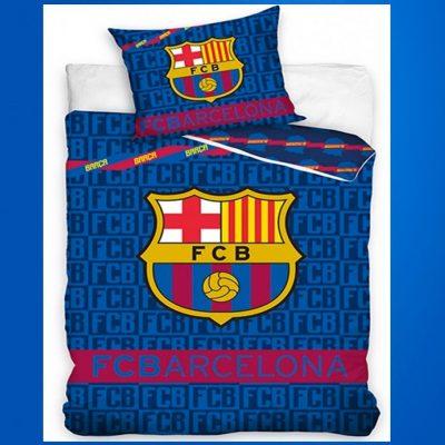 Barcelona Football Club Single Kids Licensed Duvet Bedding Cover Sets